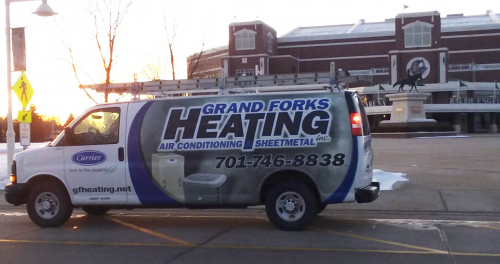 grand forks heating